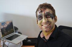 Happy zombie portraiture!