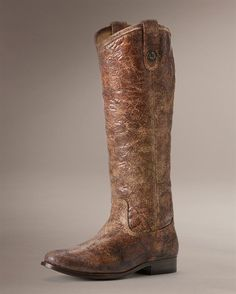 The perfect, classic, boot for any outfit. Frye Melissa Button Riding Boot. Just got these!