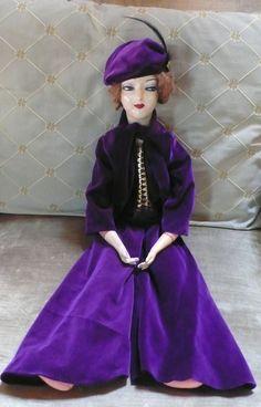 Antique boudoir bed doll Anita style