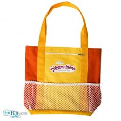 Mermaiden Tote in Caribbean Sunset--monofin compatible