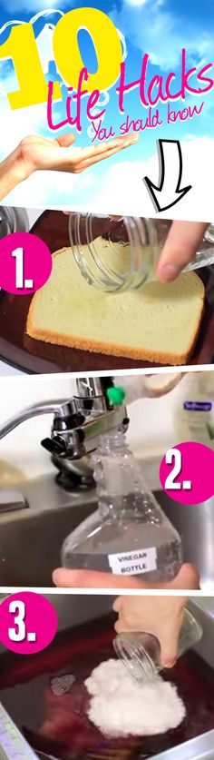 10 Awesome Vinegar Life Hacks You Should Know: These uses for vinegar will take you by surprise!