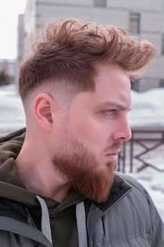 Stylish And Textured ❤ Do you know how many undercut men hairstyles are there? More than we can count! Check out these ideas to keep up with trends and find the best for you. #undercutmen #lovehairstyles #hair #hairstyles #haircuts Tapered Undercut, Undercut Fade, Disconnected Undercut, Trendy Mens Hairstyles, Undercut Hairstyles, Undercut Designs, High And Tight, Comb Over, Crew Cuts