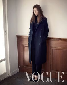 Gong Hyo Jin's Winter Pictorial For Vogue Korea's November Issue + Additional 2econd Floor F/W 2014 Visuals   Couch Kimchi