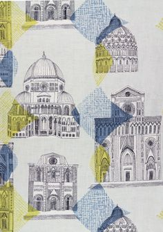 Sienna Screen printed linen (1956)