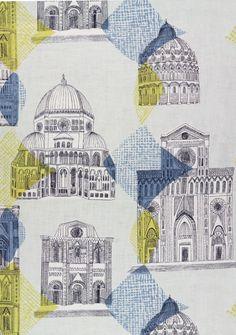 Sienna Screen printed linen (1956)