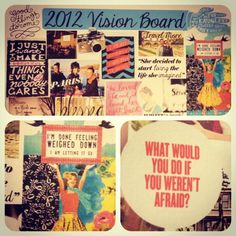 Business owners: you MUST have a Vision Board, not only for your business, but for your personal life. YOU DESIGN YOUR LIFE. So create your vision board, print it out, keep it hanging above your office! #boudoirdivas #business #visionboard