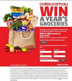 Win $7,800 Worth Of Groceries!