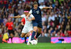The US Women's Soccer Team had an awesome match against Canada last night, winning at the last minute, 4-3