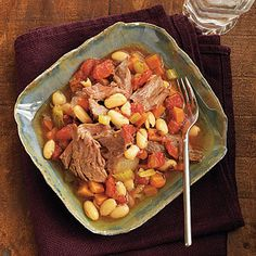 Tarragon Lamb Shanks with Cannellini Beans | 27 Delicious Low-Carb Dinners To Make In A Slow Cooker