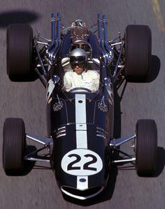 Richie Ginther Eagle V12 Monaco 1967 #1967 #F1 #Monaco