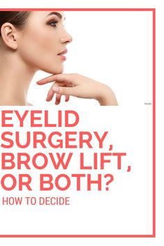 Many patients express general dissatisfaction with the area around their eyes, but they're somewhat unsure about how to improve their appearance. A few factors lead me to recommend eyelid surgery, a brow lift, or both for our Toronto patients.http://www.fordplasticsurgery.com/blog/eyelid-surgery-brow-lift-both/