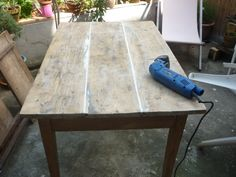 table Instructions de montage Do-it-yourself