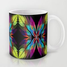 apoleaves Coffee Mug by floracyclam Coffee Mugs, Flora, Throw Pillows, Tableware, Dinnerware, Cushions, Dishes, Plants, Decorative Pillows