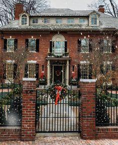 Rhode Island | Photo via @sarahkjp Winter Christmas, Christmas Home, Xmas, Christmas Lights, Christmas Greenery, Magical Christmas, Elegant Christmas, Christmas Shopping, Merry Christmas