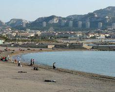 Prado Beach in Marseille France (Plage du Prado)