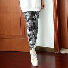 Swallow mode Gird Stripes impression Legging Pant - EUR € 7.50