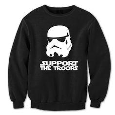 Support The Troops Crewneck Sweatshirt
