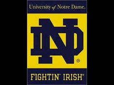 Notre Dame fight song - YouTube When I was younger my younger cousin tried to teach me this song. This is my favorite collage fight song even though I really hate the team, I still like the song. When ever I hear this song I think of my younger cousin.