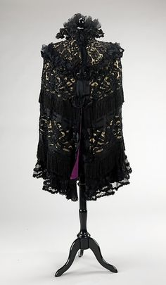mourning cape 1895-1900