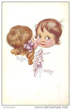 008-Bertiglia-Bambini che si Baciano