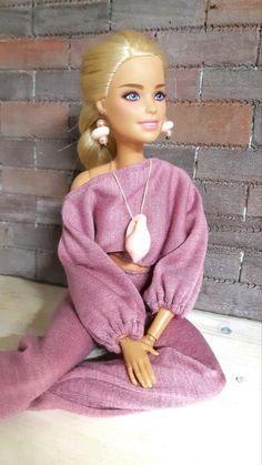 Baby Barbie, Barbie Life, Barbie World, Barbie Dress, Doll Dresses, Girly Girl Outfits, Dresses Kids Girl, Cute Outfits, Girls