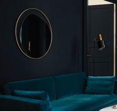 """"""" Ellipse """" Le miroir Red Edition #lamp #lampe #decoration #rededitionparis"""
