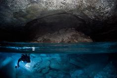 World's longest underwater 'crystal' cave in deep Russian waters revealed (PHOTOS)