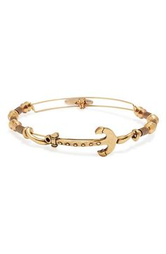 Alex+and+Ani+Expandable+Anchor+Beaded+Bangle+available+at+#Nordstrom