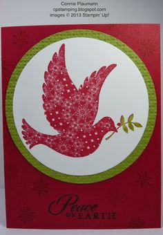 Creative Possibilities.  Calm Christmas card.