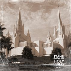 Stand ye in Holy Places printables you can modge podge onto a journal to use in class with the new ciriculum.