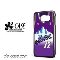 Jazz Basketball Jersey DEAL-5836 Samsung Phonecase Cover For Samsung Galaxy S6 / S6 Edge / S6 Edge Plus