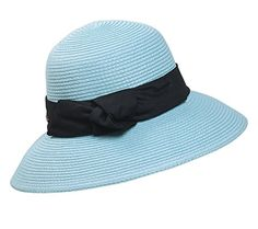 Home Prefer® Women's Straw Beach Hat UPF 50+ Sun Caps Wide Brim Bowknot Ribbon - http://droppedprices.com/boating-products/home-prefer-womens-straw-beach-hat-upf-50-sun-caps-wide-brim-bowknot-ribbon/
