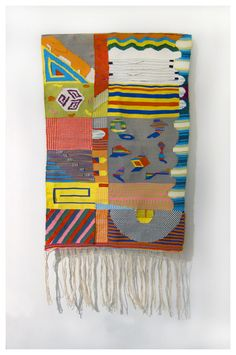 Hannah Waldron's Lively Geometric Weavings | Beautiful/Decay Artist & Design