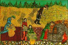 "Homo Universalis: ΘΕΡΙΣΜΟΣ - ΑΛΩΝΙΣΜΑ "" καιρός του σπείρειν - καιρός του θερίζειν.."" Autumn Crafts, Painting, Greek, Education, Fall, Google, Autumn, Fall Season, Painting Art"