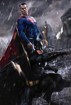 Batman v Superman : Dawn of Justice by GOXIII on DeviantArt