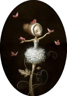 Surrealist Fairy Tale Illustrations by Nicoletta Ceccoli