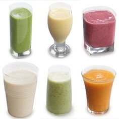 6 ingredients for super healthy smoothies