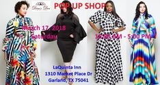 Join us for a pop up shop experience. See the latest fashion trends in Ben Marc, Donna Vinci, For Her NYC, GMI, Kayla, Moshita Couture, Tally Taylor and Why Dress.  We have pieces for church functions, date night, or girls night out.  Come check us out  La Quinta Inn 1310 Market Place Dr Garland, TX 75041 Saturday, March 17 10:00 am to 5:00 pm    #DivasDenFashion #Popup #shop #Dallas #Garland #ForHerNYC #Mesquite #Texas #Forney #Plano #Sache #LaQuinta #MaxiDress #PopUpShop #Dress