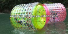 Color inflatable human hamster ball for sale W7001