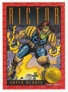 X-Men Series 2 - Rictor # 26 Skybox 1993