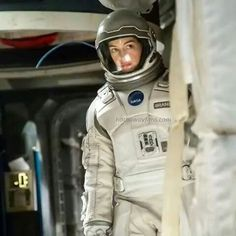 Anne Hathaway as Amelia Brand in Interstellar.