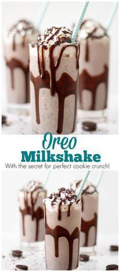 how to make oreo shake at home with ice cream