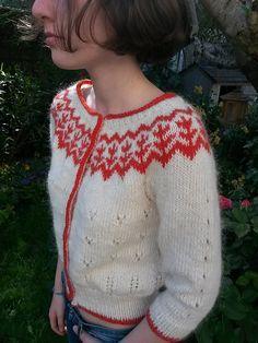 Ravelry: Simone Cardigan pattern by Gaëlle Mazéas