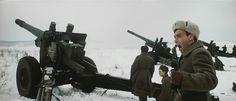 """Soviet artillery - """"Battle of Moscow"""" (1985)"""