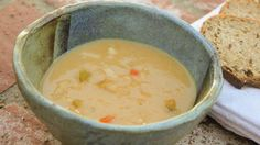 How to make a creamy white bean soup -- without any cream
