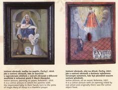 Ex voto from companion book to the exhibition The Other World (National Museum, Prague), Ex voto z doprovodné publikace v výstavě Onen svět (Národní muzeum, Praha)