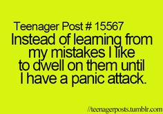 Not all the time.....but it does happen lol and I laugh my ass of afterwards!!