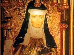 St. Hildegard of Bingen: She did it all--woman religious, composer, author, playwright, mystic. Love her!