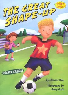 Amelia's brother, Jay, was a super athlete. Now he's a super couch-potato! Can she help him shape up in time for soccer tryouts? Human Body Anatomy, Fun Activities, Classroom, The Unit, Shapes, Teaching, Books, Kids, Fictional Characters