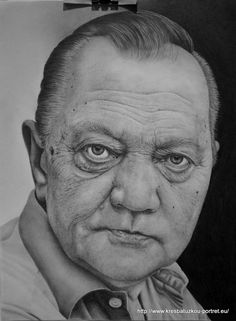 Má kresba tužkou velikost A3 Rudolf Hrušínský Portrait Art, Portraits, Human Sketch, Human Art, Drawing Ideas, Art Reference, Illusions, Bones, Sketches